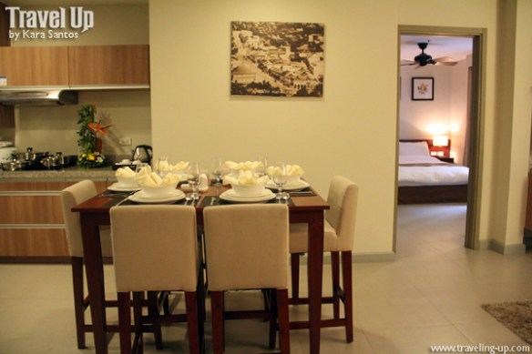 azalea residences baguio kitchenette