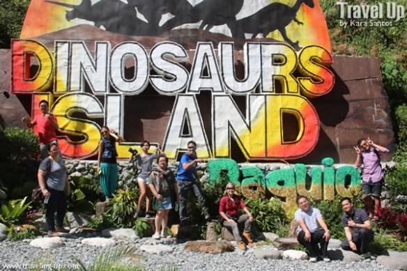 dinosaur island baguio PTB sign