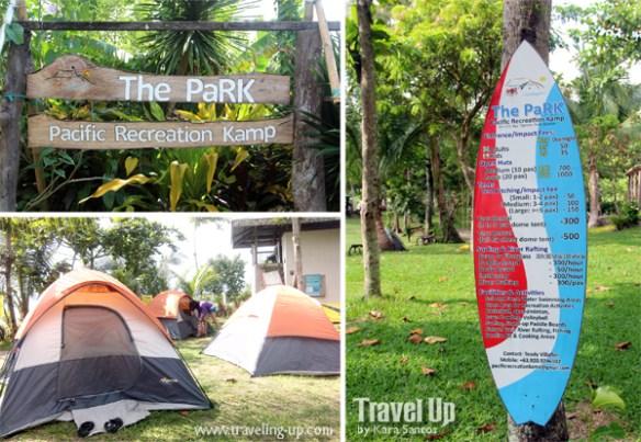 real quezon pacific recreation kamp PaRK