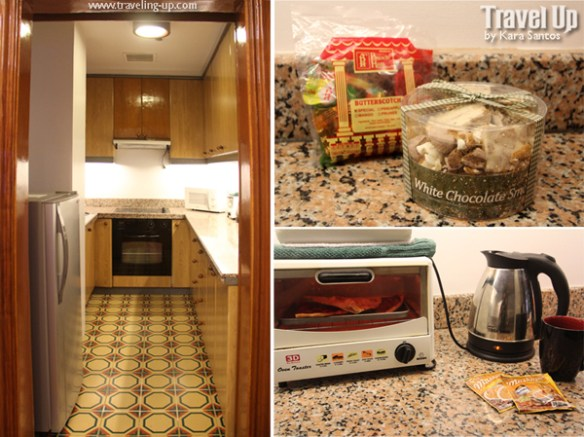 07. alcoves hotel makati 4BR penthouse kitchen