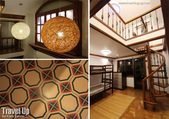 10. alcoves hotel makati 4BR penthouse stairs