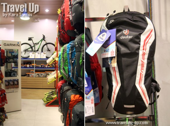 02. deuter backpacks concept store MOA