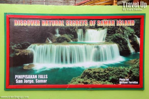 pinipisakan falls poster trexplore samar