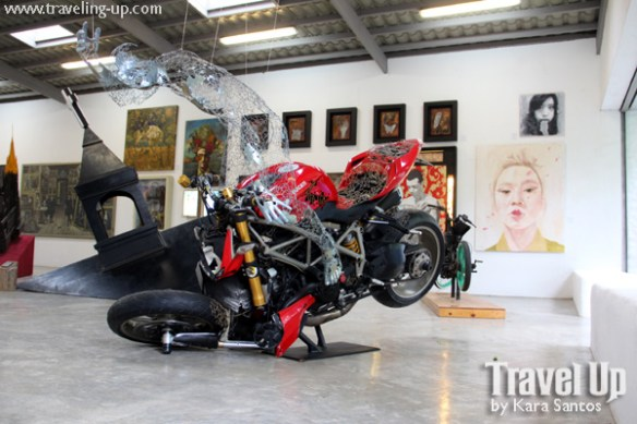 pinto art museum antipolo ducati wire sculpture artwork