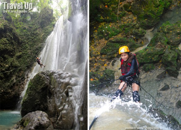 nalalata waterfalls rappelling camarines sur 01
