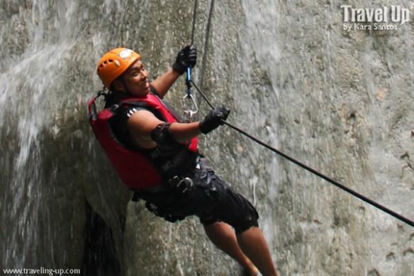 nalalata waterfalls rappelling camarines sur 15