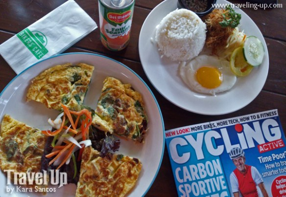 bikers cafe MOA manila food