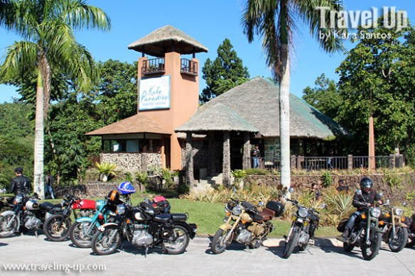 kafe paradiso mabitac royal enfield motorcycles