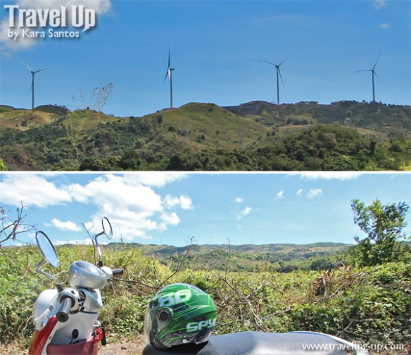 motorcycling manila east road wind farm