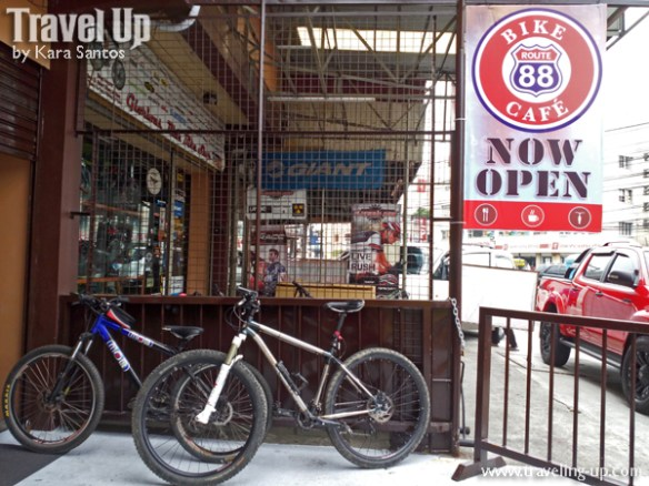route 88 bike cafe anonas quezon city outside