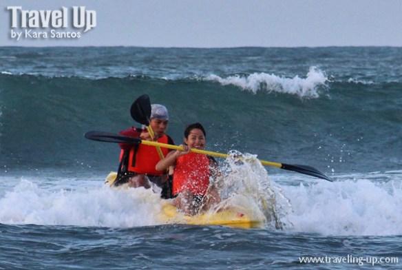 11. kayak surfing baybay beach mercedes camarines norte bicol