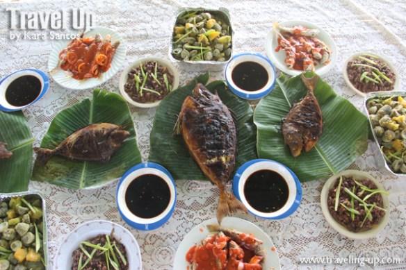 mercedes camarines norte bicol caringo island seafood feast