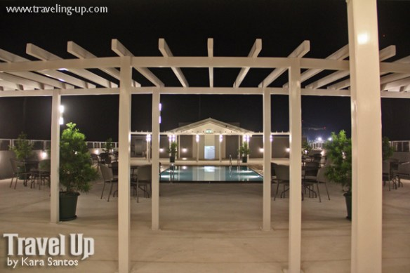 microtel up technohub swimming pool roof deck