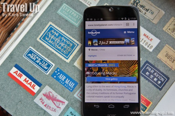 smartphone lonely planet guide stamps