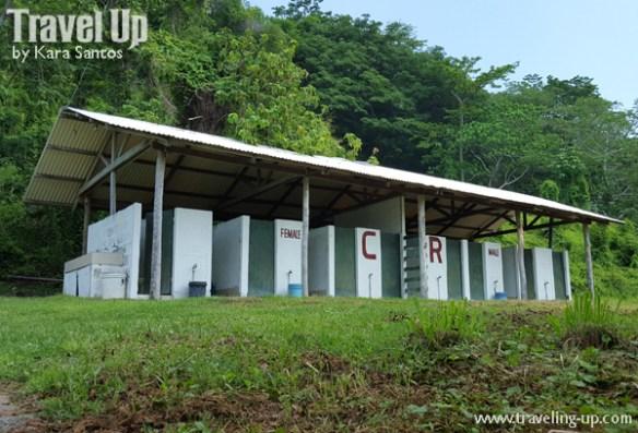 corregidor island philippines camping public restrooms