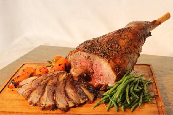 Dad's World Buffet New-Zealand-Roast-Leg-Of-Lamb