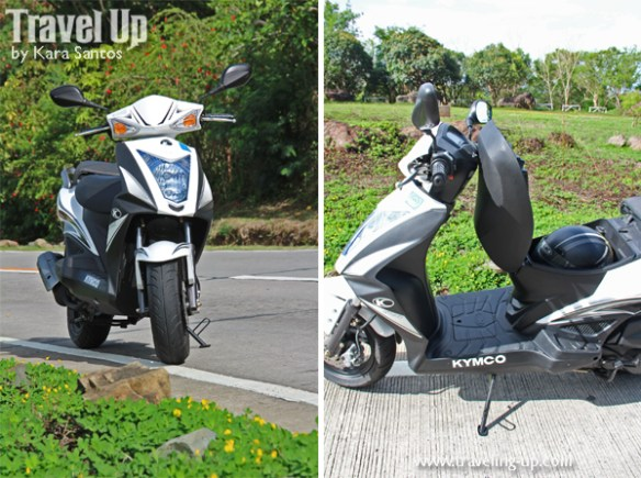 kymco agility 125 compartment