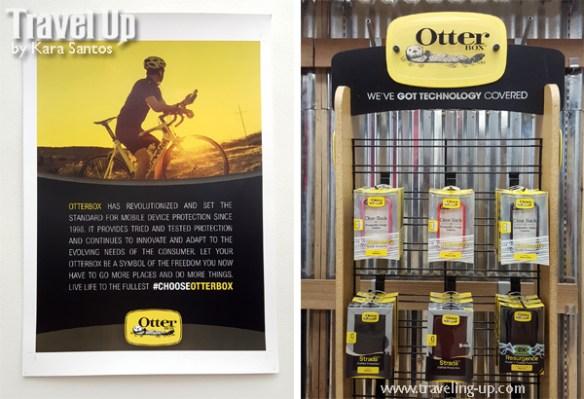 otterbox biker smartphone case display