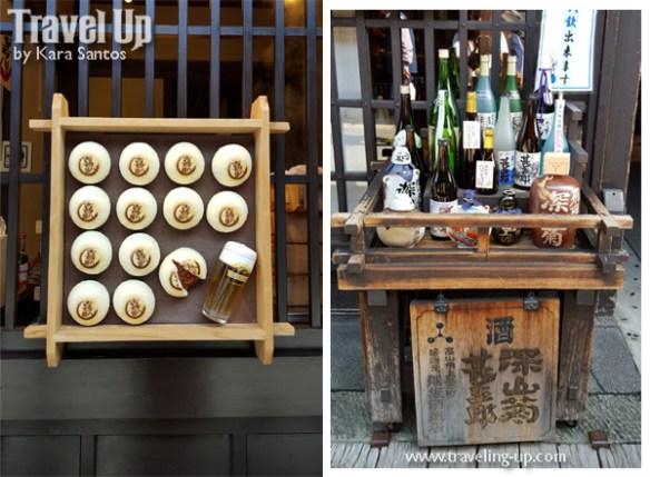 14. takayama japan morning market hida beef buns krin sake