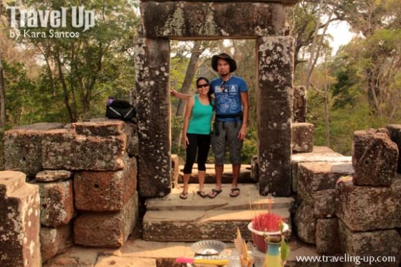 biking day 2 cambodia angkor archaelogical park phimeanakas shrine