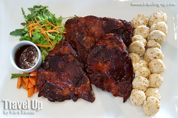 sisterfields by cravings tagaytay sticky BBQ ribs