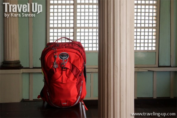 osprey bataan las casas de acuzar red backpack
