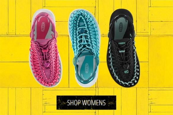 keen uneek sandals colors for women