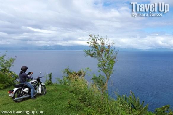 motorcycle tiwi sangay road bicol ocean
