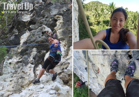 rock climbing poog cebu selfie
