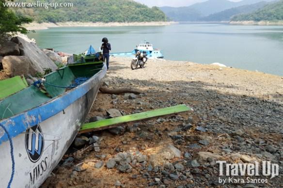 angat dam bulacan speedboat docking area MWSS
