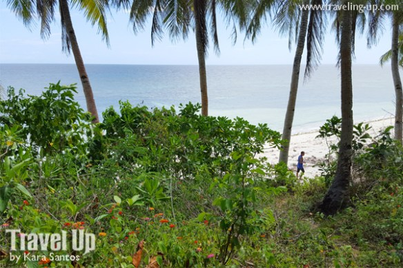 bohol by motorcycle anda beach trail to cave pool