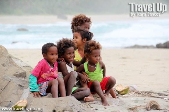 freewaters philippines aurora launch beach kids posing