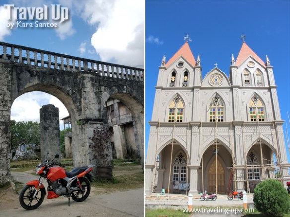 mabuhay motorcycle tours bohol church ruins