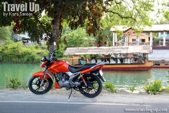 mabuhay motorcycle tours bohol loboc river