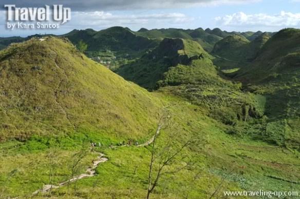 osmena peak dalaguete cebu trail hills