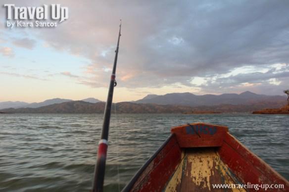 pantabangan dam nueva ecija fishing pole boat