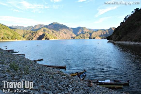 ambuklao dam benguet boats