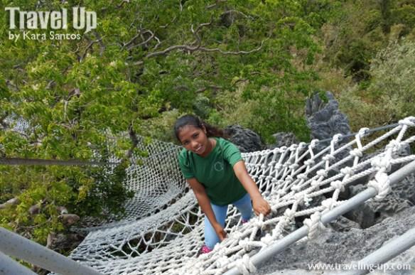 masungi georeserve tanay rizal rope ladder jennifer