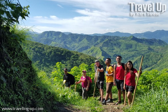05. antique rice terraces philippines trail group shot