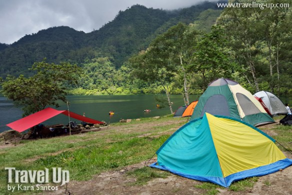 lake holon south cotabato tents camping