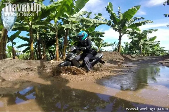 road to lake holon south cotabato motorcycle mud