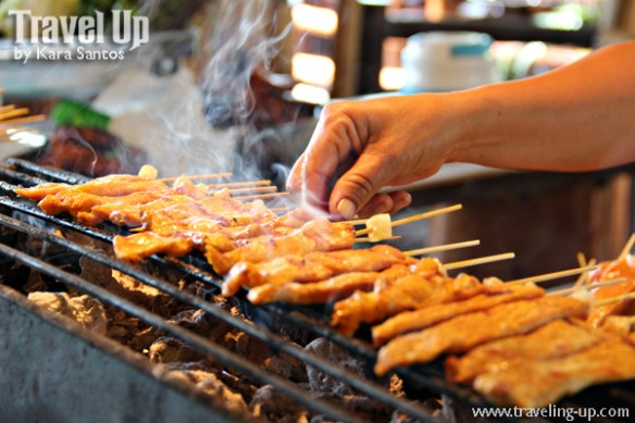 thai chicken satay barbecue thailand bangkok