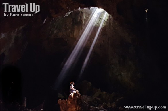 central cave samar ray of light