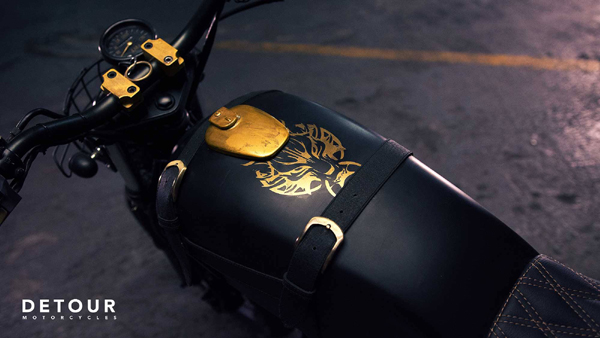 Fenrir A Final Fantasy Custom Bike Travel Up