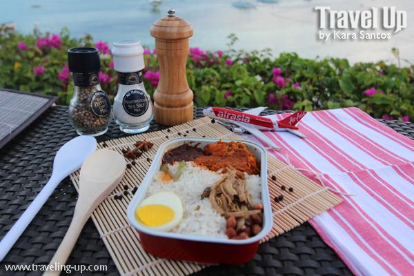 In flight food trip with airasia s santan menu travel up for Airasia japanese cuisine