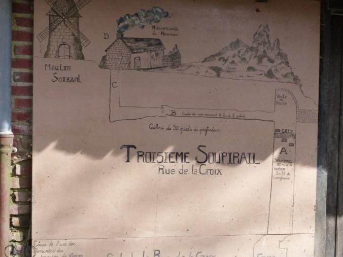 plan cité souterraine de naours