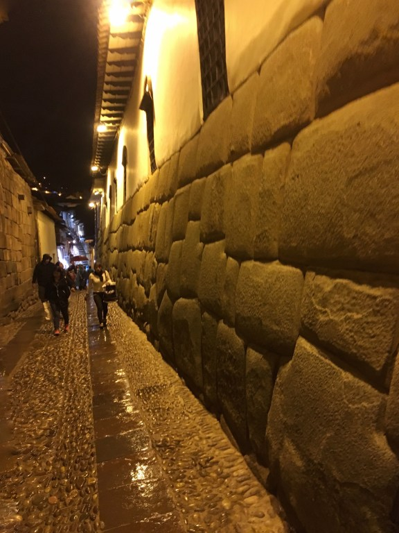 Twelve Angled Stone in Cusco, Peru