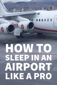 Thought you'd never have to sleep in an airport overnight? It happens! Get yourself prepared, and get through the night with these airport sleepover tips.