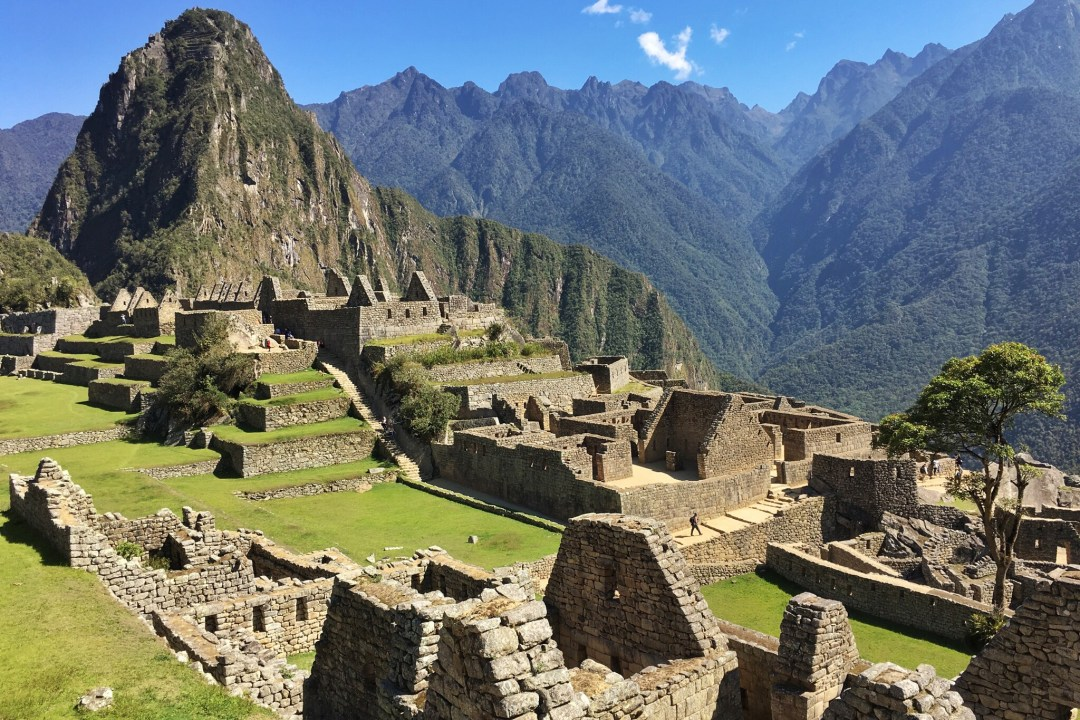 The Incan Ruins of Machu Picchu, Peru.
