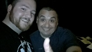 Rodger Lizaola and I after this show!